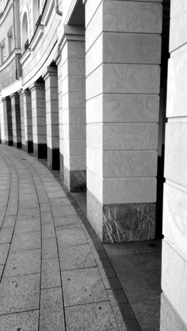 #Curvas #Columnas #Giro #Circulo #Edificio #Palacio