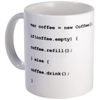 Programmer's Mug - for computer geeks, obviously.