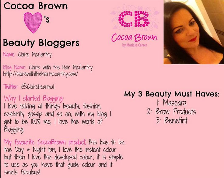 Thank you so much for naming me as your 'Beauty Blogger of the Week' Cocoa Brown. Was really blown away with the news that Cocoa Brown had named me their Beauty Blogger of the week on Friday, I was...