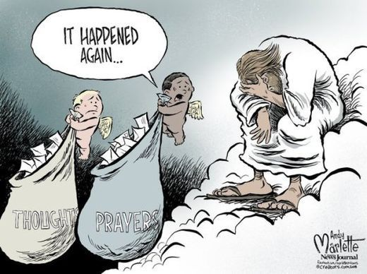 Thoughts & Prayers...It happened again.