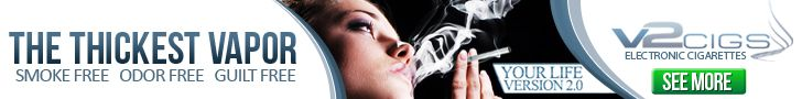 V2 Cigs - electronic cigarettes - the thickest vapor!