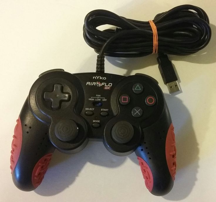 Nyko Air Flo EX for PlayStation 2 - Game pad - Sony PlayStation 2 [No Operati...