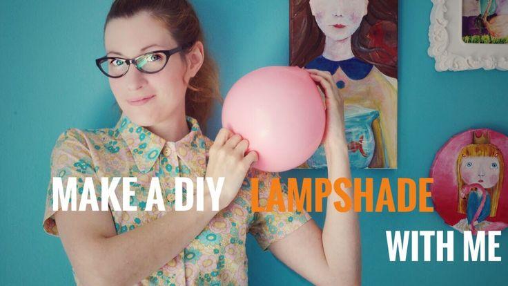 Πώς να Φτιάξετε ένα Φωτιστικό από Χαρτοπολτό - Diy Paper Macher Lampshade