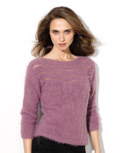 Book Woman Urban 91 Autumn / Winter | 17: Woman Sweater | Lilac