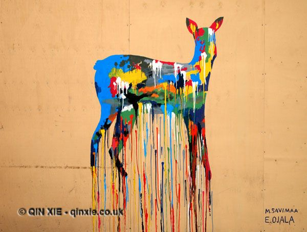 Four grafitti that capture the surprises in travel