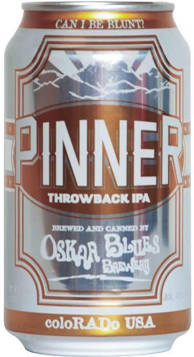 Oskar Blues Brewery Releases New Pinner Throwback IPA