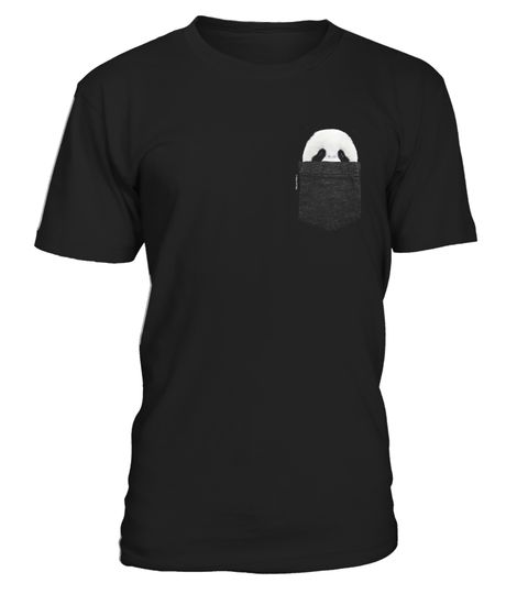 Panda In Your Pocket Tshirt Panda Shirt