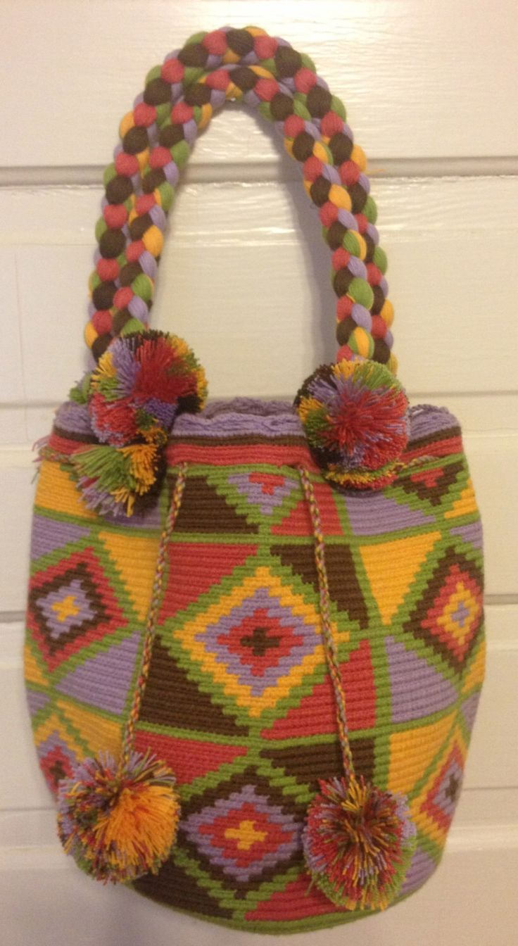 A personal favorite from my Etsy shop https://www.etsy.com/listing/215260613/clearance-wayuu-bag-mochila-hand-woven