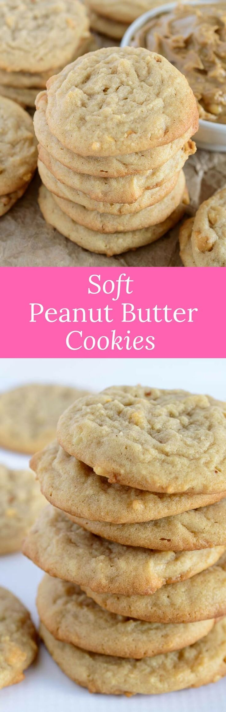 These soft peanut butter cookies are all the rage. They're easy to make and even easier to eat! They will be your absolute favorite. via @introvertbaker