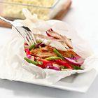 Een heerlijk recept: Makreel-pakketje met sperziebonen uit de oven