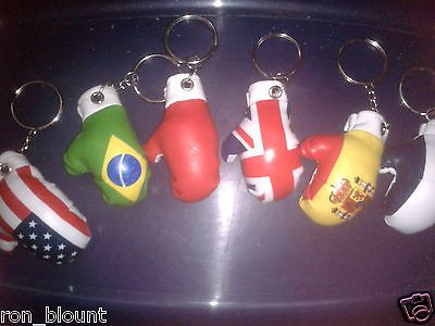 Boxing glove #keyring (fhc-113112),faux #leather soft padding,flags & #political,  View more on the LINK: http://www.zeppy.io/product/gb/2/291226219561/