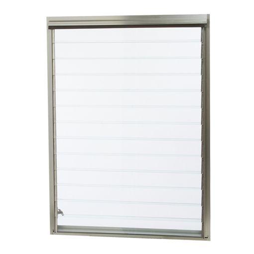 Aluminum Jalousie Utility Louver Windows