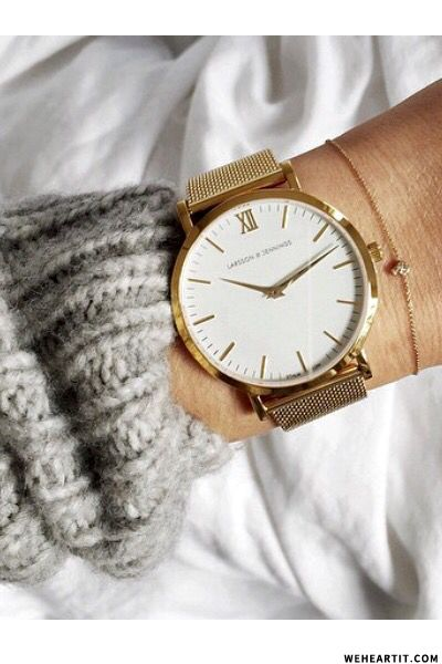Larsson & Jennings Rose Gold Watch