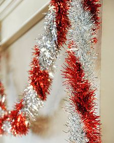 Tinsel Light Garland