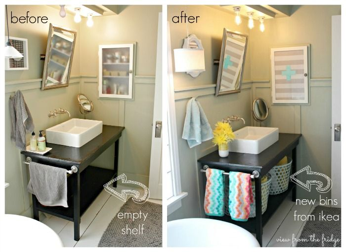 The cutest bathroom makeover ever! (budget!) :: Hometalk