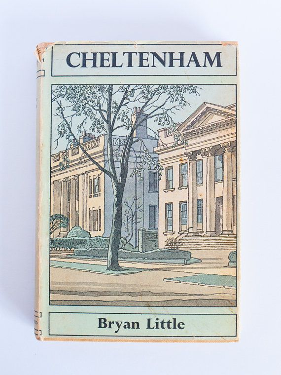 Vintage hardcover book: 'Cheltenham' by Bryan by freshdarling