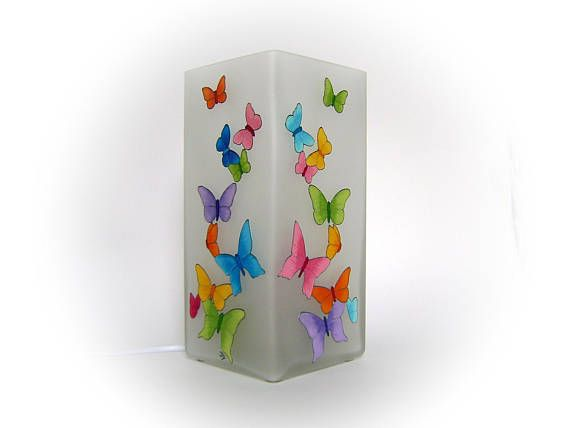 Butterfly Bedroom Lamp Colorful Table Lamp Butterfly Mood