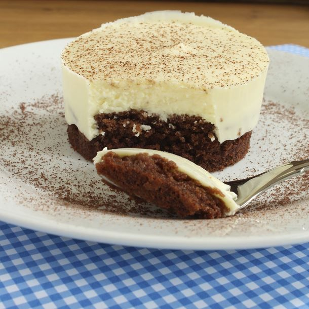 Cheesecake vanillé et cacao