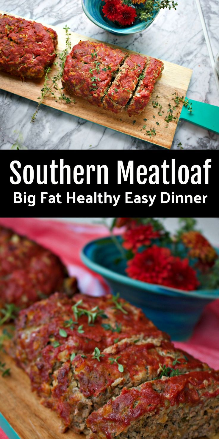 Easy Dinner Southern Meatloaf Recipe from Spinach Tiger