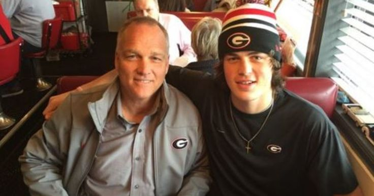 Mark Richt on his surprise visit with Jacob Eason: 'The message was just enjoying each other's company'