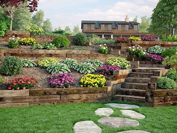 36 Awesome Terrace Landscaping Ideas – Tines traumhafte Welt