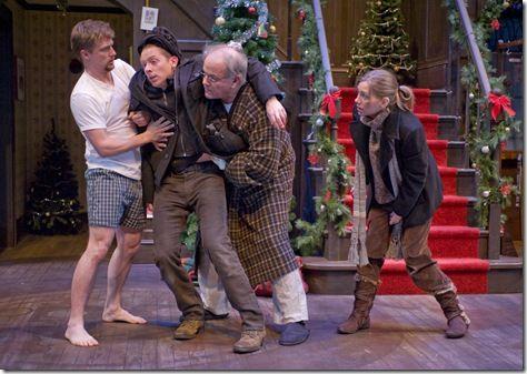 Neville, Clive, Bernard, and Rachel