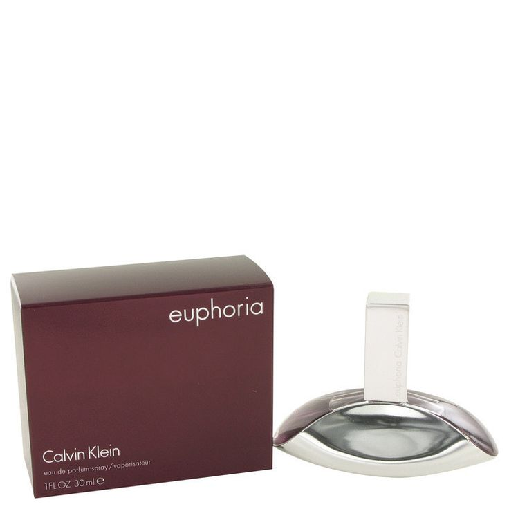 Euphoria Perfume By CALVIN KLEIN FOR WOMEN 1 oz Eau De Parfum Spray Euphoria Perfume by Calvin Klein, Euphoria by calvin klein was introduced in 2005 as a fun, enticing scent for women . The beautiful fragrance starts off with pomegranate, persimmon, and a lovely lush green accord. The heart then blends into a sensual lotus blossom, black orchid which then finishes off with amber, violet, cream and woods. All products are original, authentic name brands. We do not sell knockoffs or…