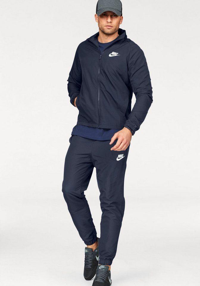 beste Seite Ruf zuerst kommt an Nike Sportswear Trainingsanzug »TRACK SUIT WOVEN BASIC« (Set ...