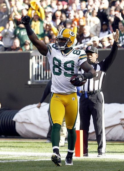 James Jones Green Bay Packers | James Jones James Jones #89 of the Green Bay Packers celebrates after ...