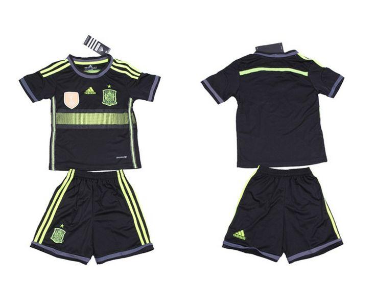 Spagna Maglie Calcio Mondiali 2014 Bambini Set Fuori