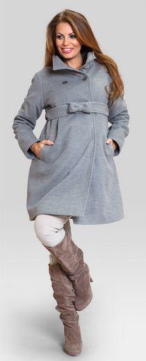 toffee grey coat