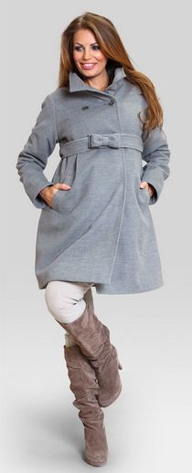 toffee grey coat