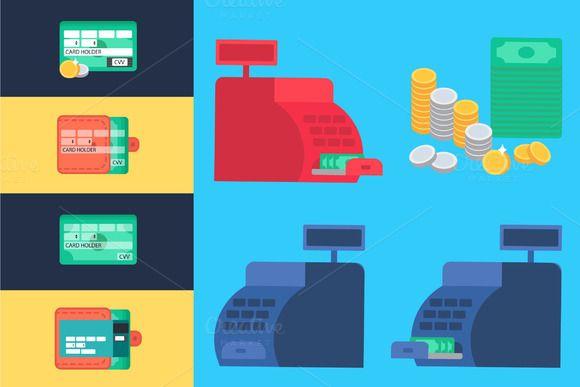 Online Shopping Elements by barsrsind on @creativemarket