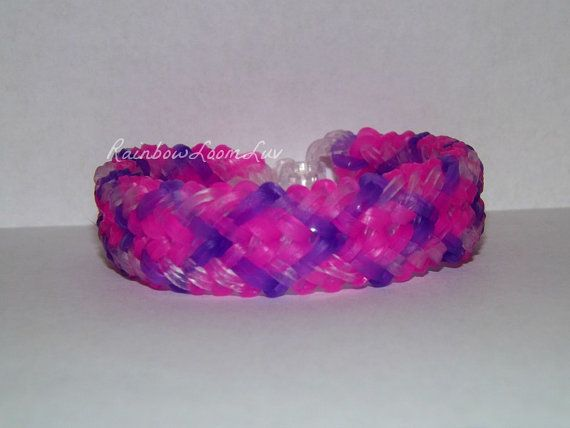 Mini Snakebelly - Rainbow Loom Bracelet