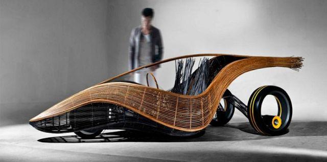 Создан саморазлагаемый автомобиль из льна #news #новости #netherlands #ecocar #bio #auto #ecoauto #younkee