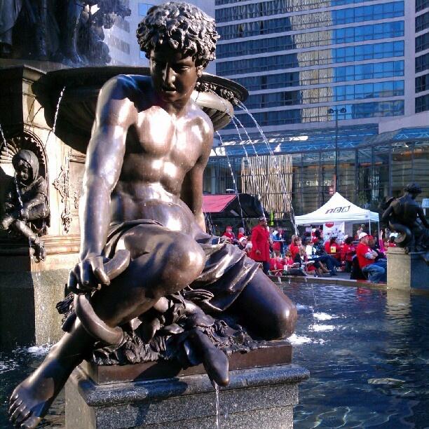 Fountain Square in #Cincinnati