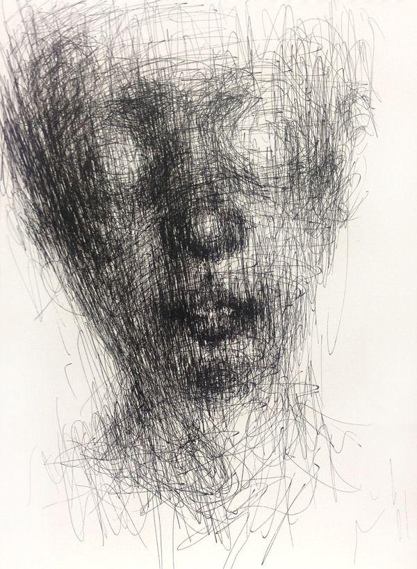 Scribble Method Drawing : Best scribble art images on pinterest