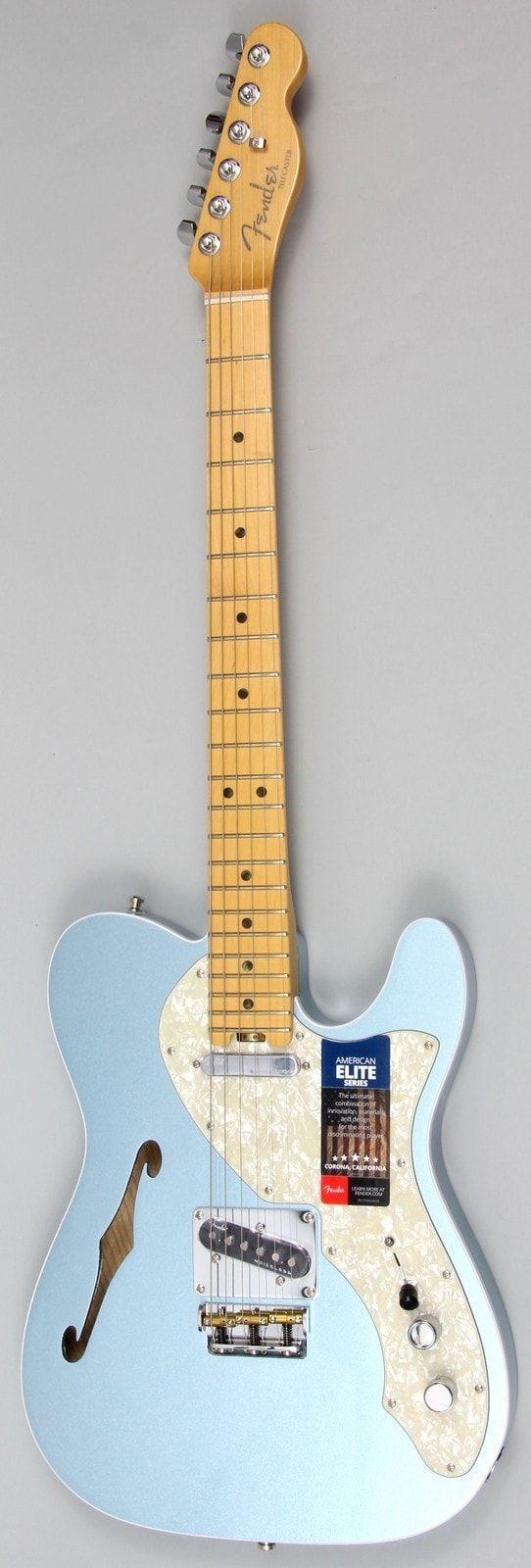 Fender American Elite Telecaster Thinline Electric Guitar #vintageguitars