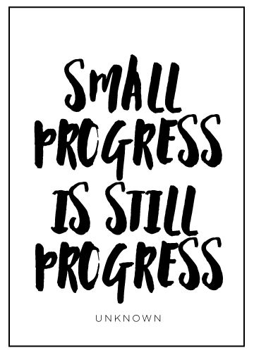Progress quote from www.scratchpaperstudio.com