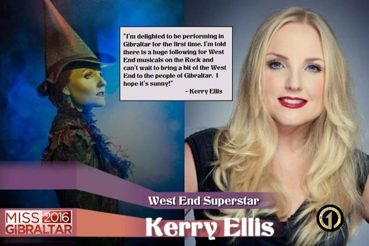 West End leading star Kerry Ellis to perform at Miss Gibraltar 2016