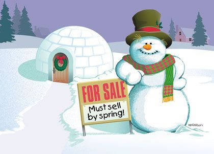 Must sell by spring? Contact us today! #VaroRealEstate #RealEstate #Realtor #Chicago #Suburbs #Home #House #Sold #Winter #ForSale #HappyHolidays #SeasonGreeting #MerryChristimas #Frosty #FrostyTheSnowman #Snowman