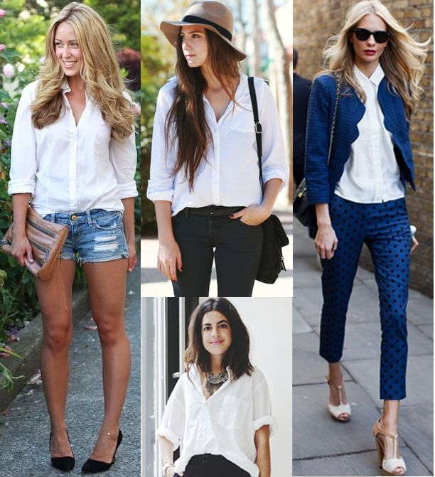 essential white button down from L.A. in the bay + those shoes to the right