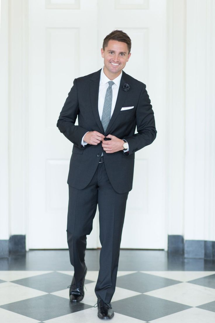 What A Man Should Wear To Black Tie Optional Wedding