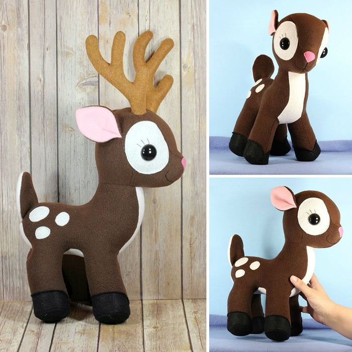 Adorable Buck and Doe Plush Toys