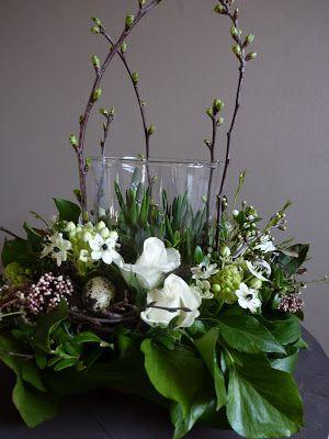 natuurlijk groen en doen: bloemschikken