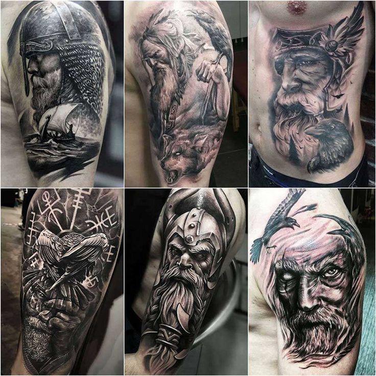 50 Wikinger Tattoo Ideen und interessante Symbole der nordischen Mythologie