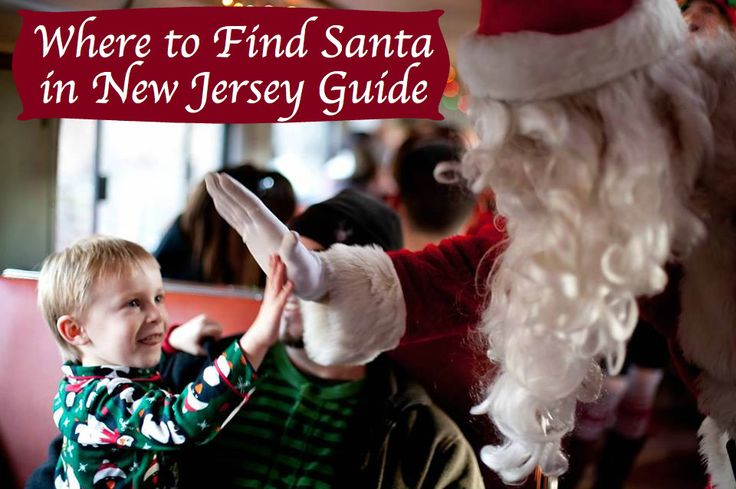 Where to Find Santa in New Jersey Guide -
