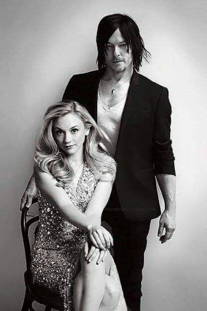 Emily & Norman. I really wish they were a couple << The thing people don't usually realize is that, in the show, Beth is 18 and Daryl is in his 30's :( Even in real life, Norman is 44 and she's 30 something