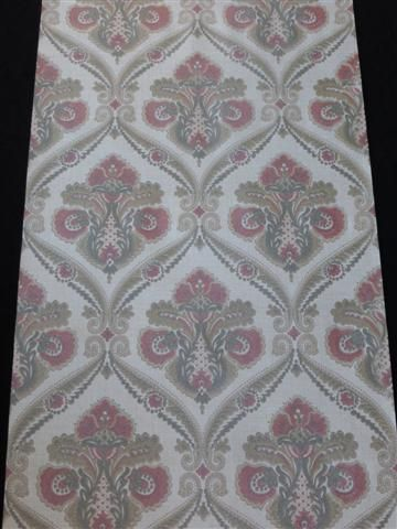 rood bruin grijs medaillon behang - Funkywalls - Dé webshop voor vintage en modern behang