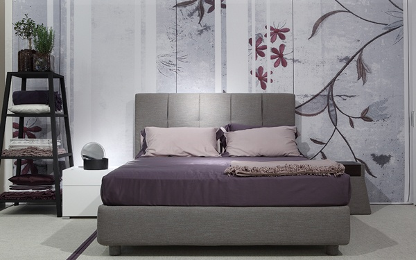 """Argan, an elegant versatile design that will make an important contribution to creating sleeping quarters that are classical and contemporary [""""Argan"""" Bed by Flou] #Bedroom #InteriorDesign #HomeDecor #Design #Arredamento #Furnishings #krevat #lit #Inspirational #inspired #homedecorideas #interiors #loveyourhome #HomeDecor #Home #Decor #Furniture #BedroomDecor #ApartmentLiving #Bed #BedroomFurniture #musthave #Ideas ベッド 布張りのベッド спальня кровать"""